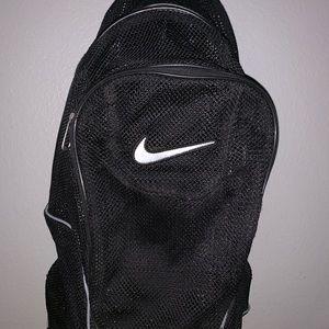 Black nike mesh bag